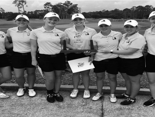 Lady Braves Finish as Runner Ups in PBC Championship Golf Tournament