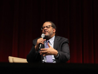 Dr. Michael Eric Dyson Graces UNCP's GPAC Auditorium with Engaging Topics