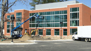 New Health Services Building Nears Completion