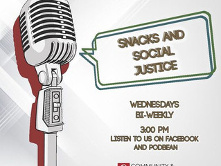 Snacks & Social Justice Starting Conversations on Today's Issues