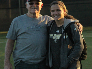 Meet UNCP Women's Soccer Team's Biggest Fan: Grandpa Wade J. Brown