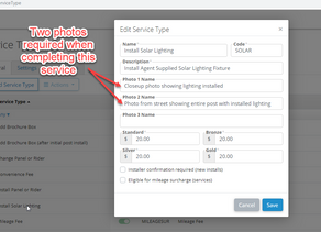 How to add photos to Service Confirmations