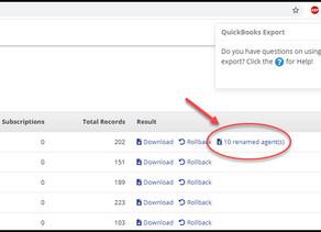 "What Do ""Renamed Agents"" in My QuickBooks Desktop Export Mean?"