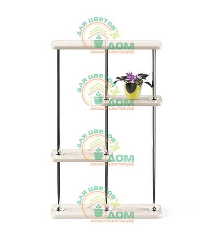 Полка для цветов на подоконник  Флора-6