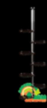 Подставка на подоконник Гортензия-1 Венге