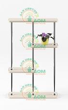 Подставка для цветов на подоконник Флора-6