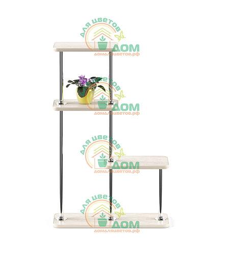 Полка для цветов на подоконник Флора-7