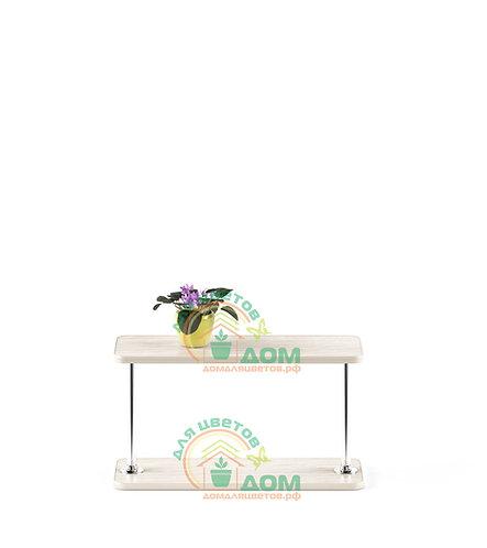 Полка для цветов на подоконник Флора-2