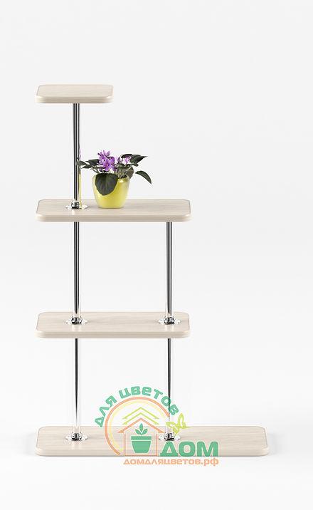 Подставка для цветов на подоконник Флора-1