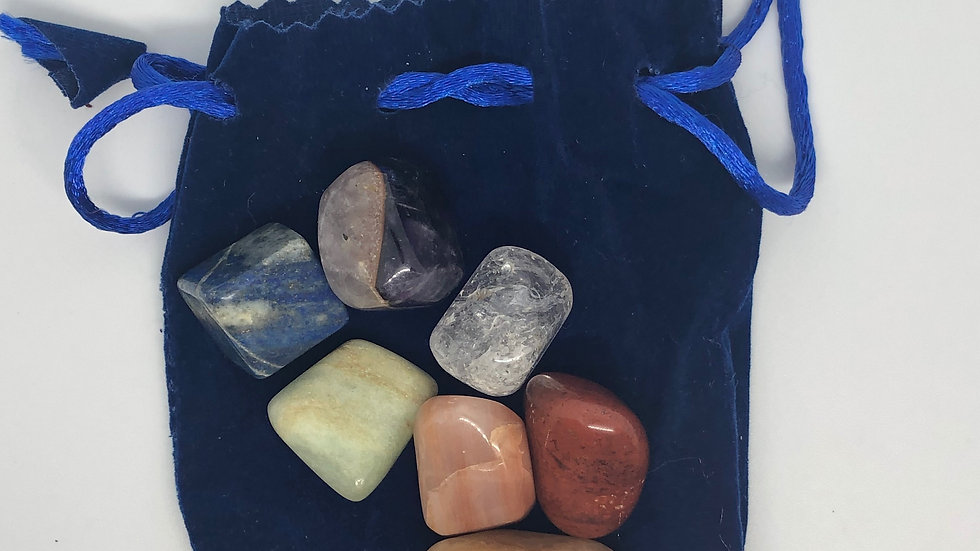 Chakra Crystal Bag