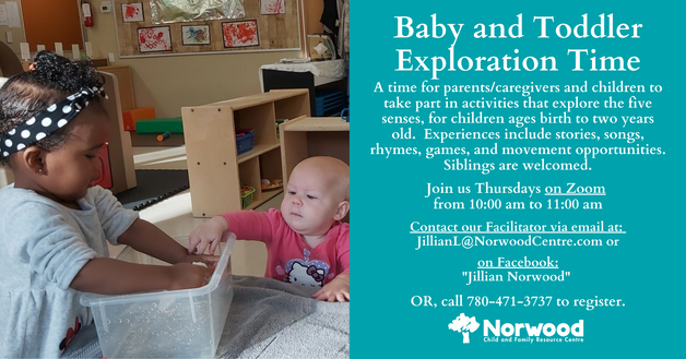NE Baby and Toddler Exploration Time USE