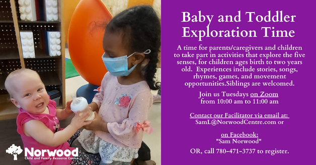 Baby and Toddler Exploration Time USE fo