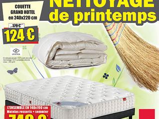 NETTOYAGE DE PRINTEMPS !!!
