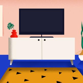 Forgotten Living Room Items