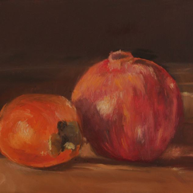 Pomegranate and Persimmon.jpg