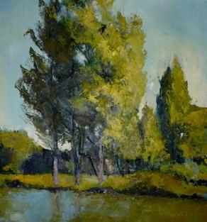 Three Poplars, River Cam, Cambridge