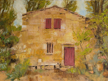 Workers house at Bibemus quarry