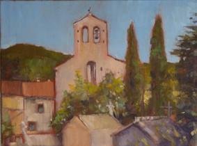 Church at Saint-André-de-Buèges