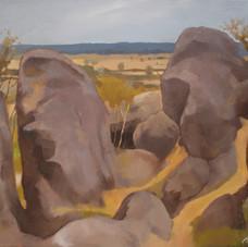 Painting at Hanging Rock 3