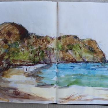 conchal beach, Nicoya peninsular,.