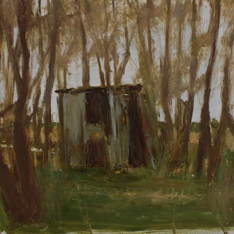 old shed near Swaffham Bulbeck