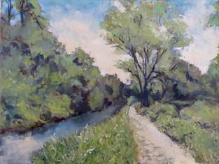 Mill Race, King's Mill, Gt. Shelford