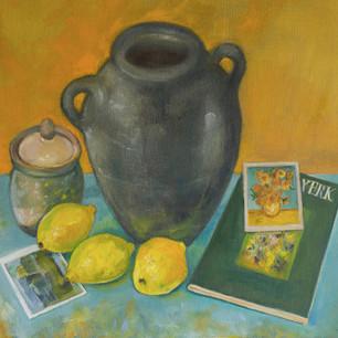 van gogh and black pot