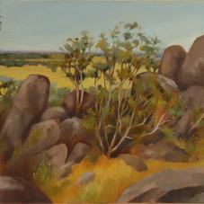 Painting at Hanging Rock 1
