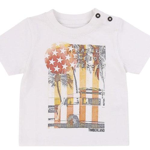 T Shirt avec Image - Timberland