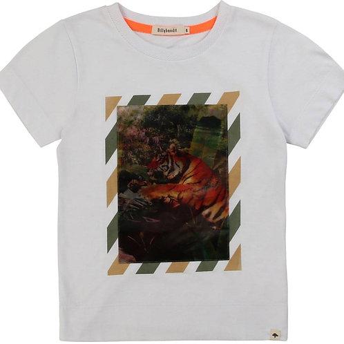 T Shirt Blanc avec illustrations - Billybandit