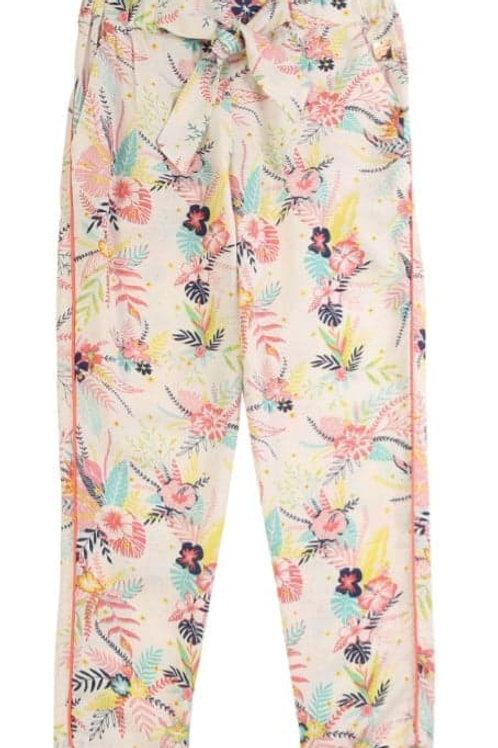 Pantalon Fluide Floral