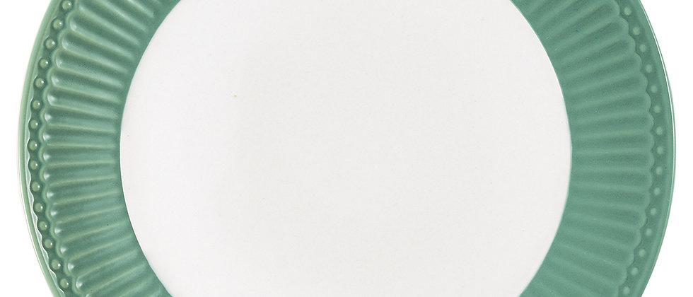 Greengate Speiseteller 26,5 cm | Alice Dusty Green