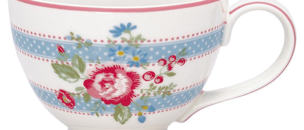 GreenGate Teacup | Evie white