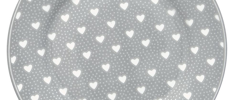GreenGate Teller 20,5 cm | Penny grey