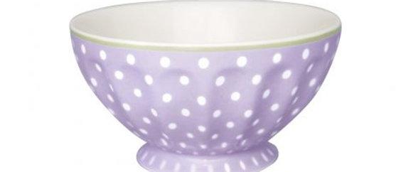 GreenGate French Bowl xlarge | Spot Lavender