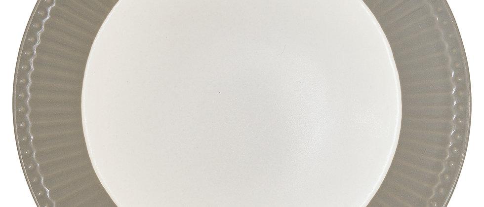 Greengate Teller 23 cm | Alice Warm Grey