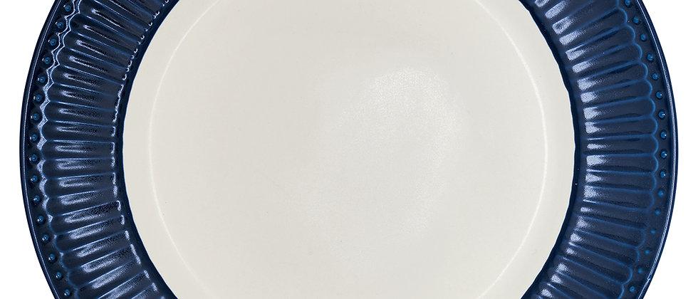 Greengate Speiseteller 26,5 cm   Alice Dark Blue