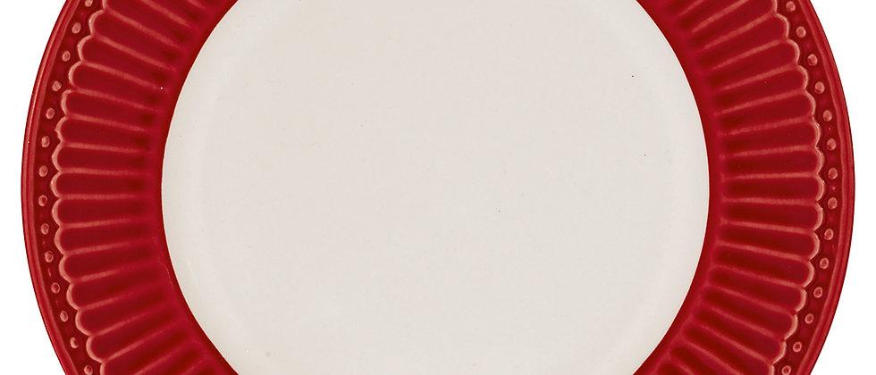 Greengate Teller 17,5 cm | Alice Red