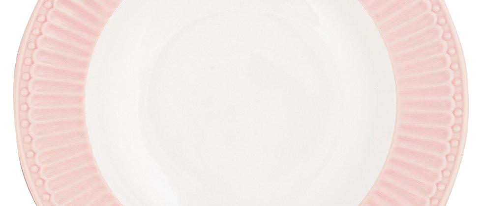 Greengate tiefer Teller 21,5 cm   Alice Pale Pink
