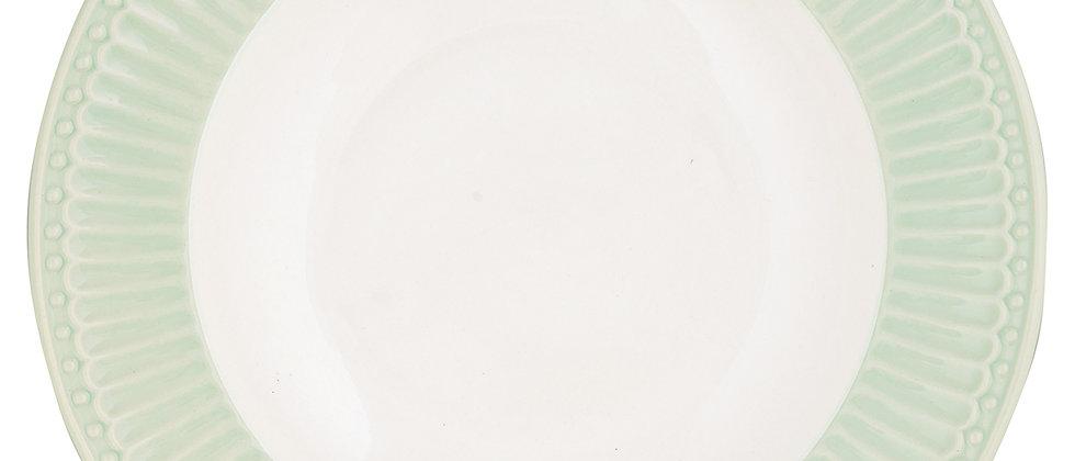 Greengate tiefer Teller 21,5 cm   Alice Pale Green