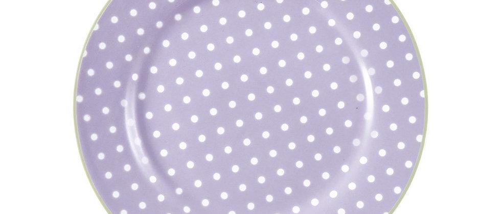 GreenGate Teller 20,5 cm   Spot Lavender