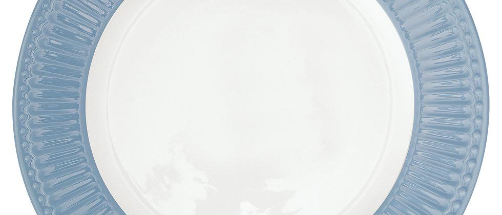 Greengate Speiseteller 26,5 cm | Alice Sky Blue