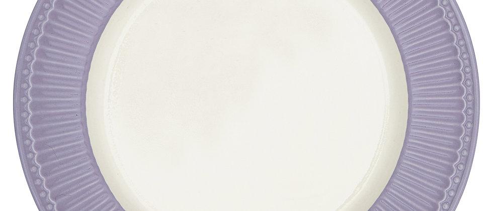 GreenGate Speiseteller 26,5 cm | Alice Lavender