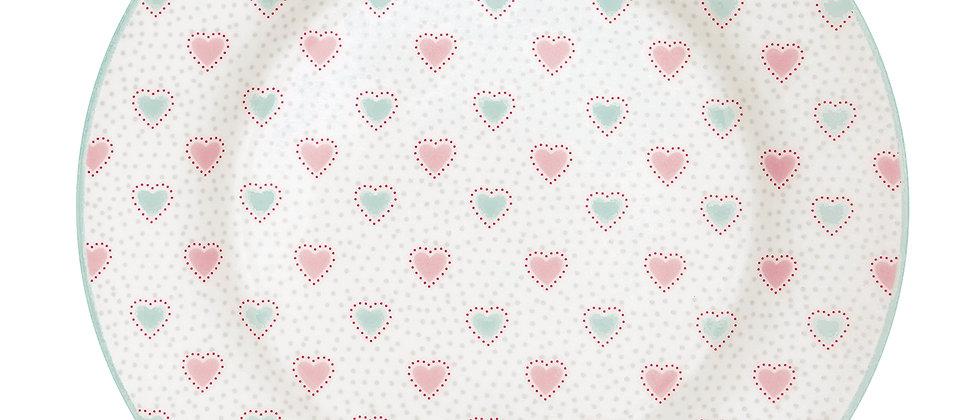 GreenGate Teller 20,5 cm | Penny white