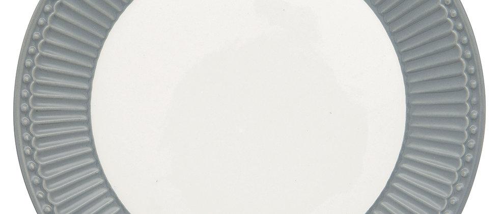 Greengate Teller 23 cm   Alice Stone Grey