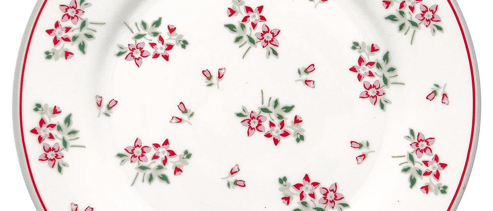 GreenGate Teller 20,5 cm | Avery white