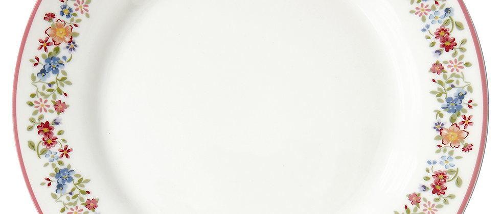 GreenGate Teller 20,5 cm | Clementine white