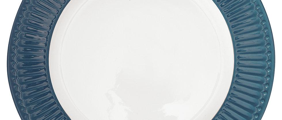 Greengate Speiseteller 26,5 cm | Alice Ocean Blue