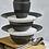 Thumbnail: Greengate Speiseteller 26,5 cm   Alice Dark Grey