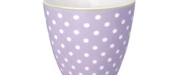 GreenGate Latte Cup | Spot Lavender